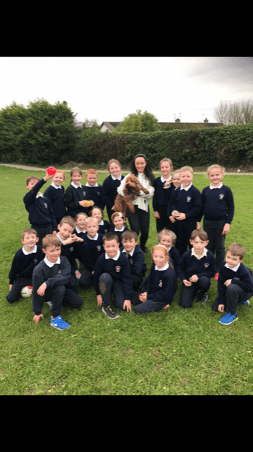 A visit from our furry friend Charlie!