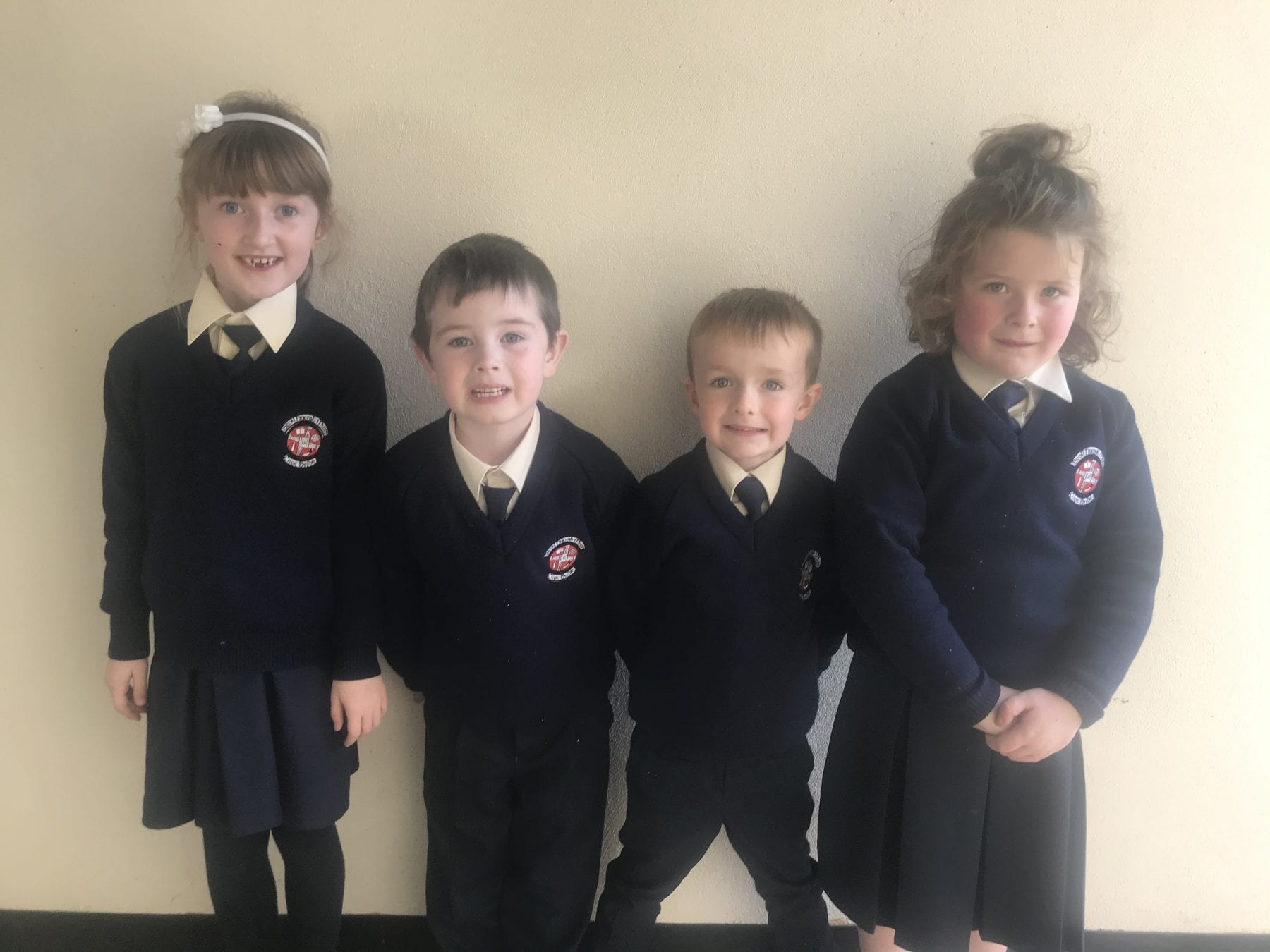 October Person and Student of the Month Nominees in our Junior Infant Class
