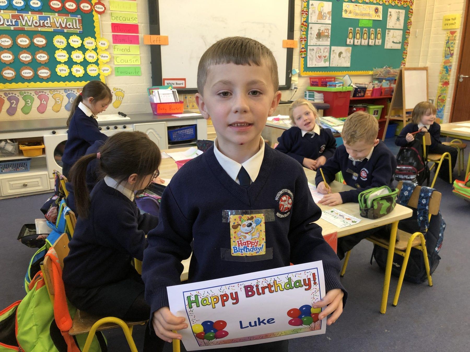 Happy Birthday Luke