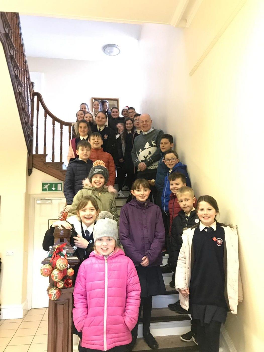 Diocesan Centre visit