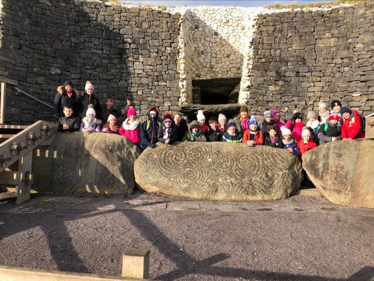 Rang VI Newgrange Visit