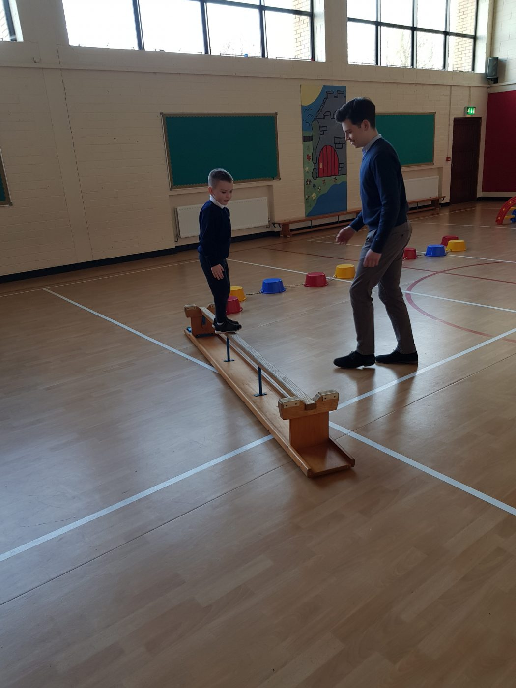 Gymnastics in Junior Infants