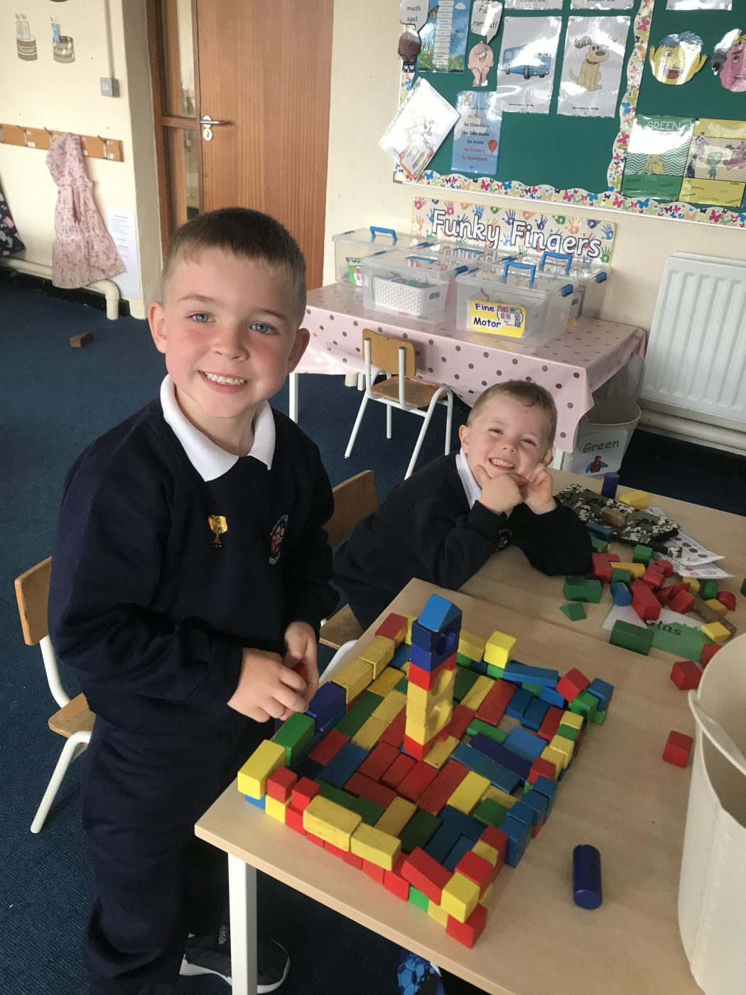 A busy week in Junior Infants!
